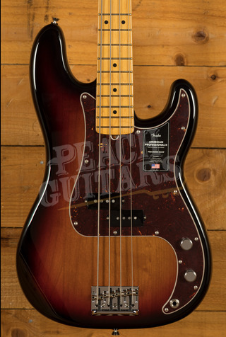 Fender American Professional II Precision Bass 3-Colour Sunburst Maple