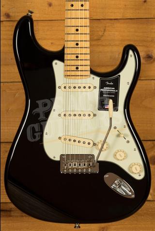 Fender American Professional II Stratocaster Black Maple