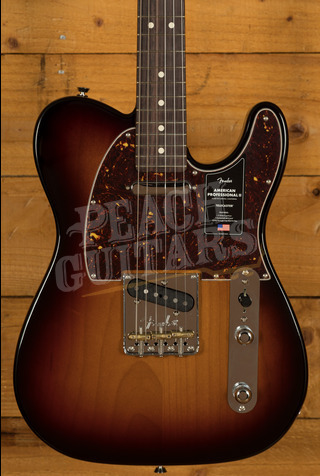 Fender American Professional II Telecaster 3-Color Sunburst Rosewood