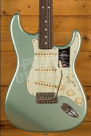 Fender American Professional II Stratocaster Mystic Surf Green Rosewood