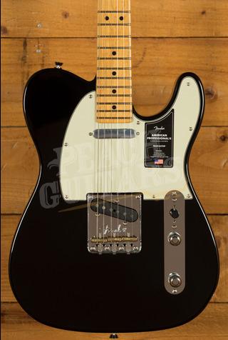 Fender American Professional II Telecaster Black Maple