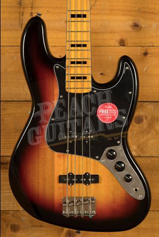 Squier Classic Vibe 70s Jazz Bass Maple Neck 3TSB