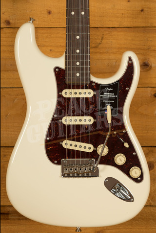 Fender American Professional II Stratocaster Olympic White Rosewood