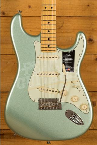 Fender American Professional II Stratocaster Mystic Surf Green Maple