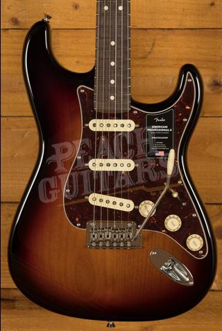 Fender American Professional II Stratocaster 3-Color Sunburst Rosewood