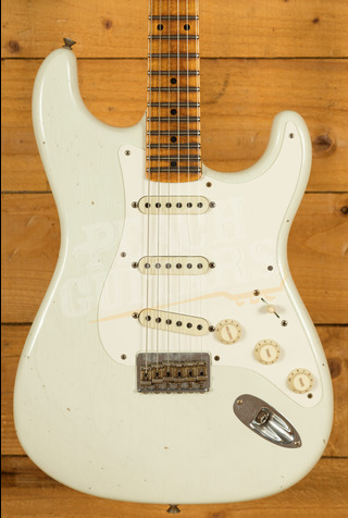 Fender Custom Shop Limited Edition 1957 Strat Hardtail Journeyman Relic India Ivory