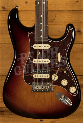 Fender American Professional II Stratocaster HSS 3-Color Sunburst Rosewood
