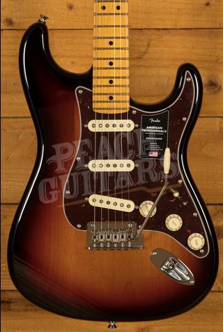 Fender American Professional II Stratocaster 3-Color Sunburst Maple