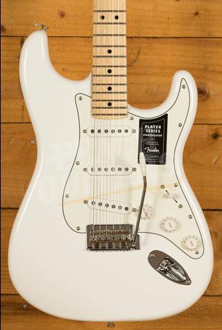Fender Player Series Strat Maple Neck Polar White