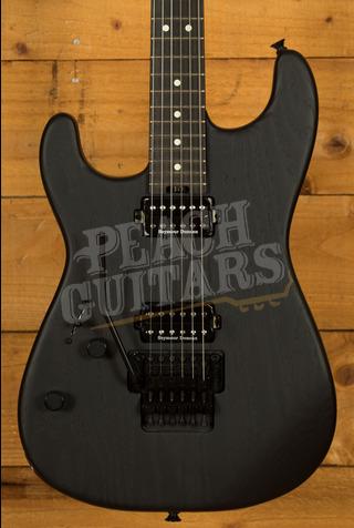 Charvel Pro-Mod San Dimas Style 1 HH FR E LH Sassafras, Ebony Fingerboard, Satin Black