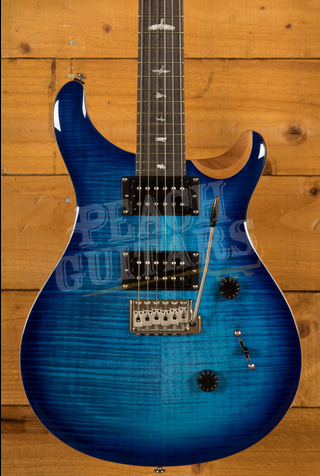 PRS SE Custom 24 Faded Blue Burst 2021