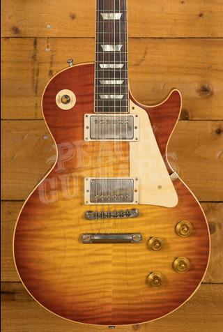 Gibson Custom 59 Les Paul Standard Washed Cherry Sunburst VOS