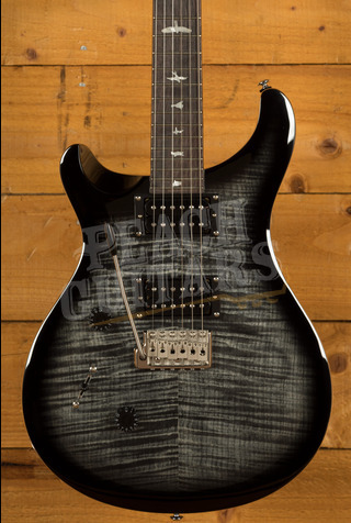 PRS SE Custom 24 Left Handed Charcoal Burst