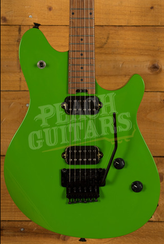 EVH Wolfgang Standard Roasted Maple Neck Slime Green