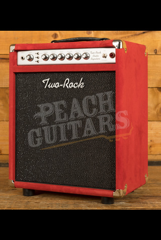 Two-Rock Studio Signature Combo - Silver Chassis Red Suede