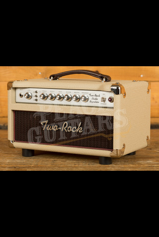 Two-Rock Studio Signature Head - Silver Chassis Blonde & Oxblood