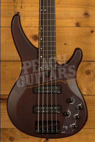 Yamaha TRBX505TBN Translucent Brown 5 String bass