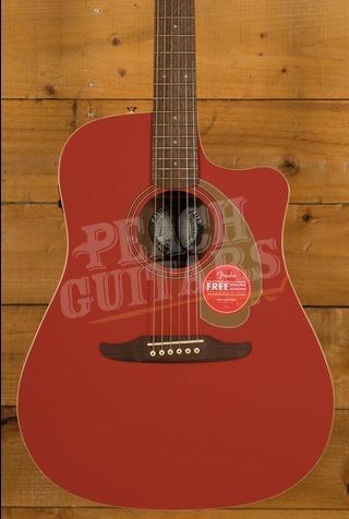 Fender Ltd Edition Redondo Player Fiesta Red