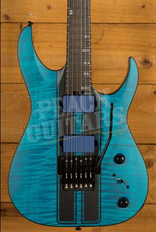Schecter Banshee GT-FR Satin Trans Blue