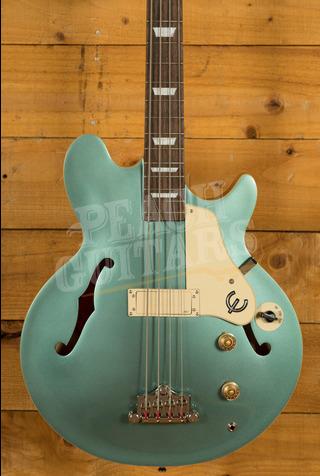 Epiphone Jack Casady Bass Faded Pelham Blue