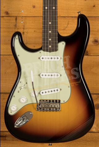 Fender Custom Shop '59 Strat NOS 3 Tone Sunburst Left Handed
