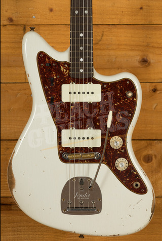 Fender Custom Shop '65 Jazzmaster Journeyman Aged Olympic White