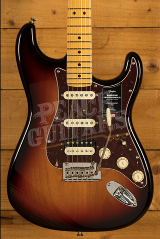 Fender American Professional II Stratocaster HSS 3-Color Sunburst Maple