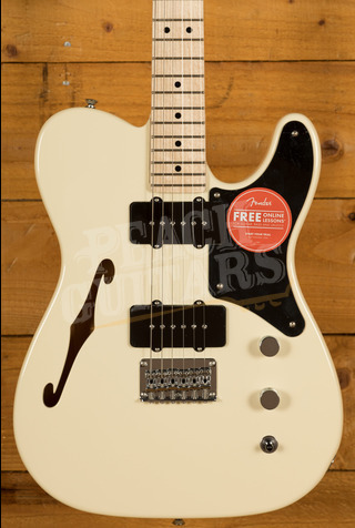 Squier Paranormal Cabronita Telecaster Olympic White