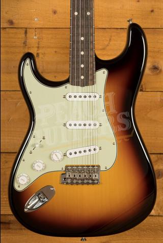 Fender Custom Shop '61 Strat NOS 3 Tone Sunburst Left Handed
