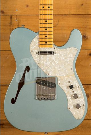 Fender Custom Shop LTD '68 Tele Thinline Journeyman Aged Ice Blue Metallic