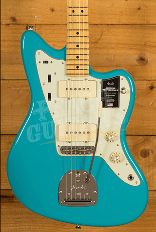 Fender American Professional II Jazzmaster Miami Blue Maple