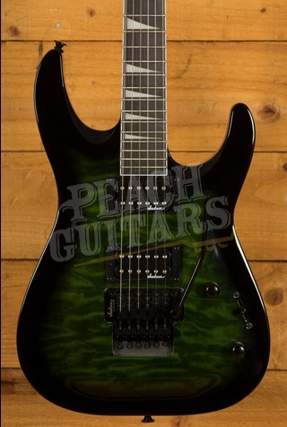 Jackson JS32Q DKA - Transparent Green Burst