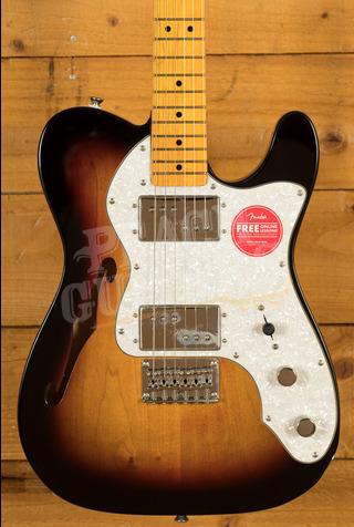 Squier Classic Vibe 70s Tele Thinline Maple Neck 3TSB