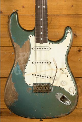 Fender Custom Shop Masterbuilt Vincent Van Trigt '65 Strat Heavy Relic Aged Lake Placid Blue
