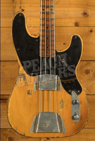 Fender Custom Shop '51 P-Bass MB Vincent Van Trigt Heavy Relic Nocaster Blonde
