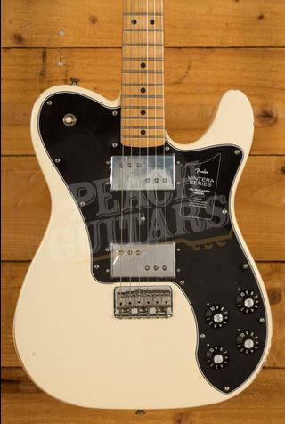 Fender Vintera Road Worn 70's Tele Deluxe Olympic White