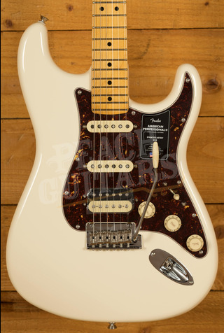 Fender American Professional II Stratocaster HSS Olympic White Maple