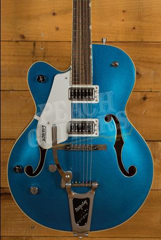 Gretsch G5420TLH Electromatic Hollowbody Left Handed Fairlane Blue Ex Video