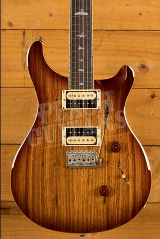 PRS SE Custom 24 Zebrawood Top