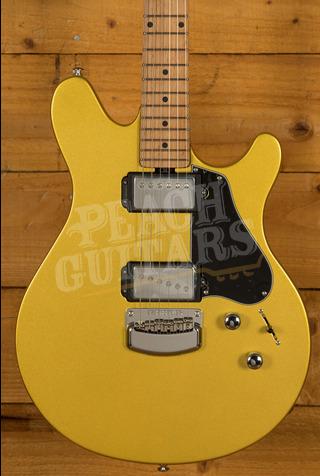 Music Man JV Saturn Gold Roasted Maple Neck