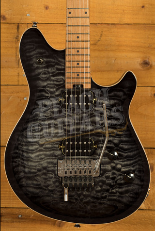 EVH Wolfgang Special QM, Baked Maple Fingerboard, Charcoal Burst