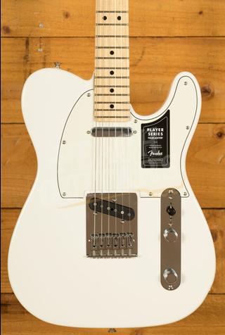 Fender Player Series Tele Maple Neck Polar White