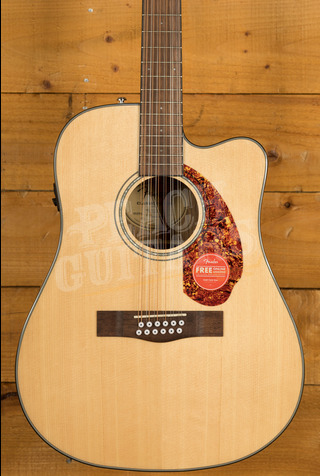Fender CD-140Sce Dreadnought 12 String Natural w/Case