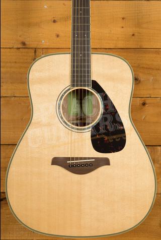 Yamaha FG840FSM Acoustic Natural Flamed Back & Sides