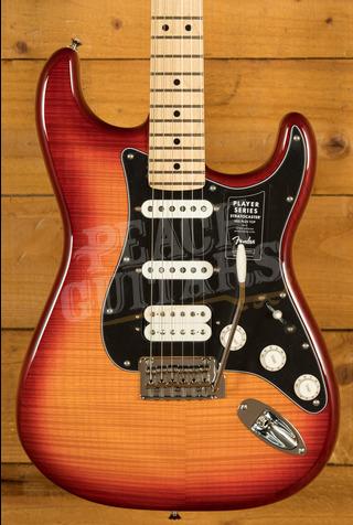 Fender Player Series Strat HSS Plus Top Maple Aged Cherry Burst