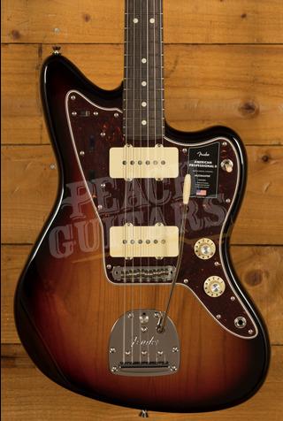 Fender American Professional II Jazzmaster 3-Color Sunburst Rosewood