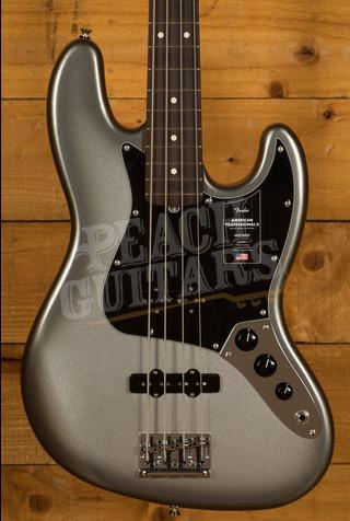 Fender American Professional II Jazz Bass Mercury Rosewood