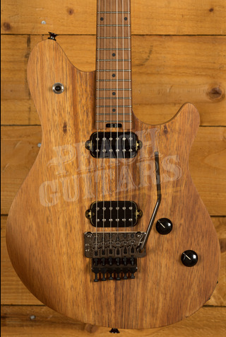 EVH Wolfgang Standard Exotic Koa, Baked Maple Fingerboard, Natural