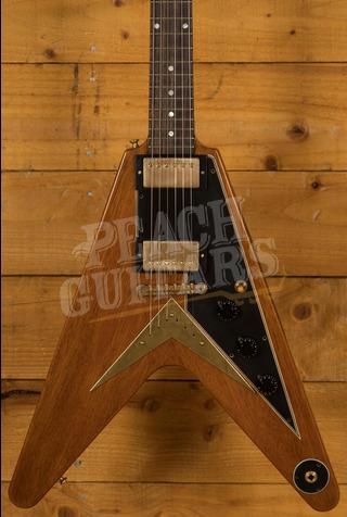 "Gibson Custom 59 Flying V ""Sunshine Antique Natural"" VOS GH"