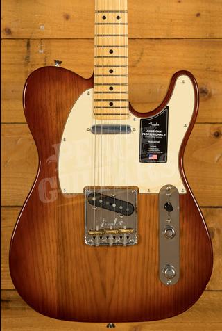 Fender American Professional II Telecaster Sienna Sunburst Maple